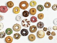 Selection of different doughnuts — Stock Photo