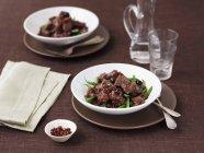 Provenal яловичини з оливками — стокове фото