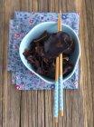 Hongo oreja de jalea - foto de stock