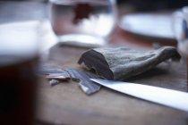 Мясо, высушенное на воздухе — стоковое фото