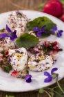 Сыр мягкой козы — стоковое фото