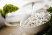 Amêndoas açucaradas brancas — Fotografia de Stock