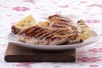Petto di pollo alla griglia — Foto stock