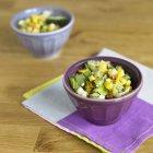 Gegrillter Mais Salat — Stockfoto