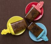 Cola ice lollies — Stock Photo