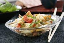Insalata di pasta con tonno — Foto stock