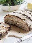 Pane di segale e frumento mista — Foto stock