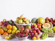 Fruit and berry assortment — Stock Photo