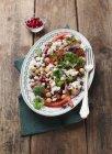 Нуту салат з перцем — стокове фото