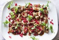 Филе ягненка с семенами — стоковое фото