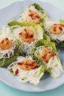 Mini glass noodle nests — Stock Photo