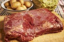 Ingredienti per la carne di manzo — Foto stock