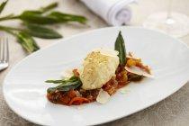 Canederli di formaggio di pecora — Foto stock