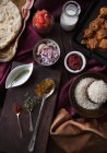 Ingredients for paneer masala — Stock Photo