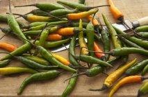 Pimentas de pimentão tailandesa — Fotografia de Stock