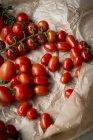 Свіжі червоні помідори — стокове фото