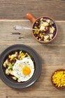 Insalata di patate con fagioli — Foto stock