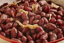 Cinco cacahuetes de especias - foto de stock
