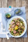 Penne pasta salad — Stock Photo