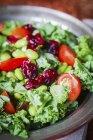 Салат з листя. — стокове фото