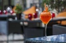 Коктейль гарнір з моркви — стокове фото