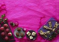 Домашнє різдвяні цукерок — стокове фото
