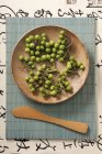 Aubergines de Mini verts — Photo de stock