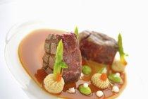 Ваге яловичина Корейка стейк — стокове фото