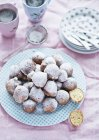 Mini Donuts con azúcar - foto de stock