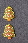 Árboles de jengibre de Navidad - foto de stock