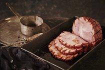 Jambon de pays grillé — Photo de stock