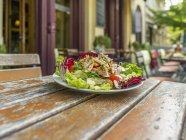 Mixed leaf salad — Stock Photo