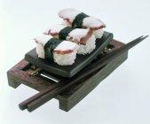 Nigiri trois tako sushi — Photo de stock
