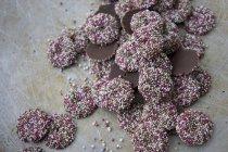 Montón de jazzies de chocolate - foto de stock