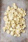 Massas de orecchiette frescas não cozidas — Fotografia de Stock