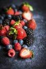 Fresh summer berries — Stock Photo