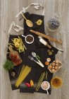 Ingrédients pour les plats de pâtes — Photo de stock