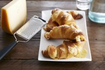 Spicy cheese croissants — Stock Photo