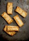 Fried halloumi sparsi — Foto stock
