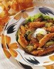 Zucchine e carote arrostite — Foto stock