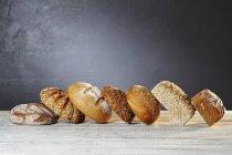 Verschiedene Brotsorten — Stockfoto