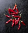 Сушені червоний перець — стокове фото