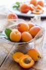 Abricots crus frais — Photo de stock