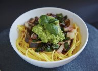 Pasta degli spaghetti senza glutine — Foto stock