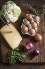 Ингредиенты — стоковое фото