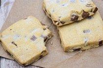 Biscotti di pepita di cioccolato — Foto stock