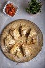 Fatias de pão de soda irlandês — Fotografia de Stock