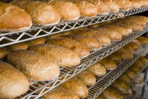 Loaves of white bread — Stock Photo