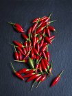 Small chili peppers — Stock Photo