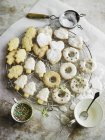 Biscotti frollini di Natale — Foto stock